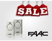 Скидка на брелки Faac XT2 SLH LR и Faac XT4 RC